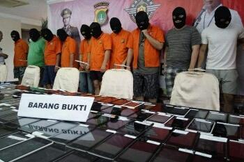 8 Pelaku Kasus Penipuan Order Online Fiktif Diringkus Polisi
